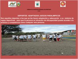 UNIDAD DE ATENCION INTEGRAL DE APARTADO U.A.I