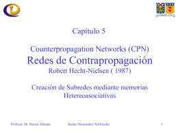 La red de Counterpropagation