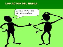 LOS ACTOS DEL HABLA