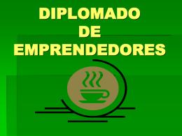 DIPLOMADO DE EMPRENDEDORES
