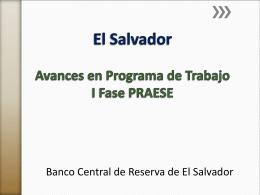 EL Salvador Avances Recomendaciones CAPTAC DR