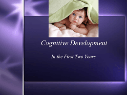 Cognitive Development - Holy Family Catholic Schools