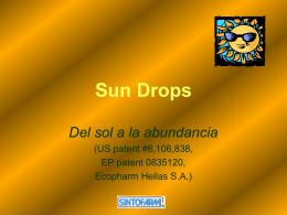 Sun Drops - Sintofarm Caribe Ltda.