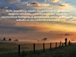EL ALFABETO EMOCIONAL - La Granja Escola de Sta M