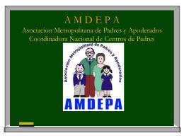 A M D E P A Asociacion Metropolitana de Padres y …