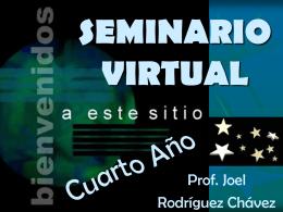 SEMINARIO VIRTUAL - Colegio San Luis Rey.