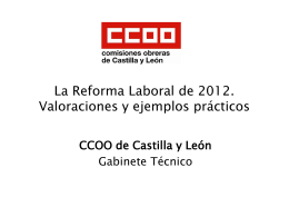 Objetivos generales de la Reforma Laboral