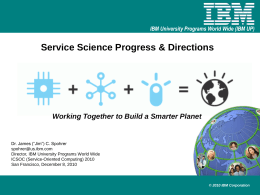 Service Growth - Home Page | Information Engineering …