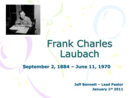 Frank Charles Laubach