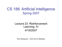 CS 294-5: Statistical Natural Language Processing