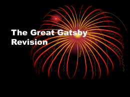The Great Gatsby Revision - Miss Cairney's English Blog