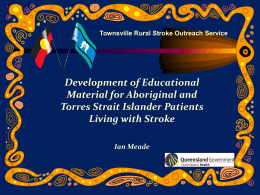 Indigenous Health Education Resource Spinal Cord Injury