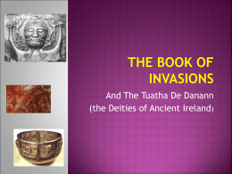 The Book of Invasions - University of Ottawa