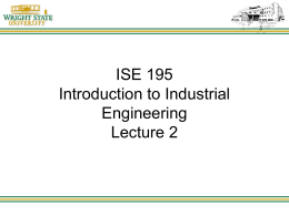 EGR 702 Lecture 1 - Wright State University