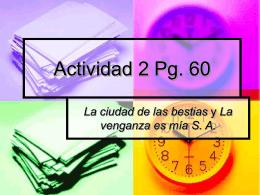 Actividad 2 Pg. 60