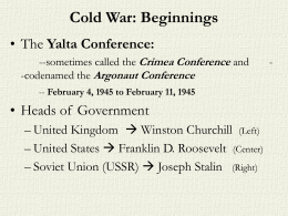 COLD WAR INTRO