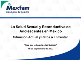 Family Planning in Mexico (1998)