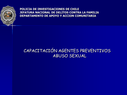 POLICIA DE INVESTIGACIONES DE CHILE JEFATURA …