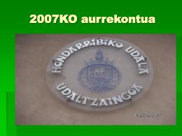 ORGANIGRAMA POLICIA MUNICIPAL 2006