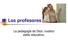 Los profesores