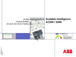 AC500 Control Builder