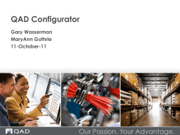 QAD Configurator