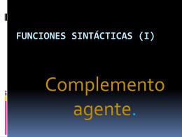 LOS SINTAGMAS - Magister XXI