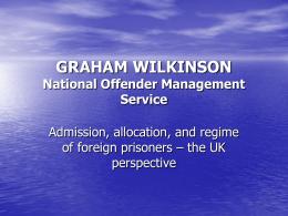 GRAHAM WILKINSON