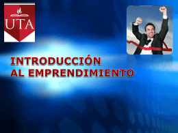 INTRODUCCION AL EMPRENDIMIENTO - njara