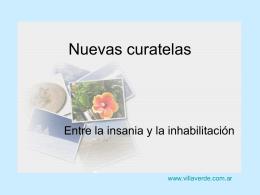 DESIGNACION DE DOS CURADORES Fernandez Norberto …
