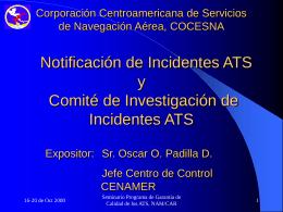 NAM/CAR/SAM Air Traffic Services Quality Assurance