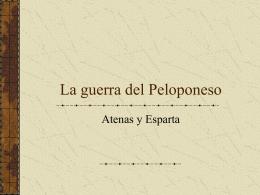 La guerra del Peloponeso - Principal | IES Playa Flamenca