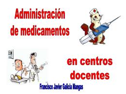 Administracion medicamentos alumnos