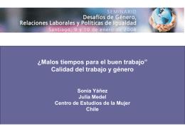 Diapositiva 1 - CEM, Centro de Estudios de la Mujer