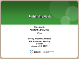 Dewey Training Materials FAQ