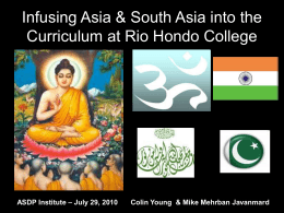 Asian Studies At Rio Hondo College