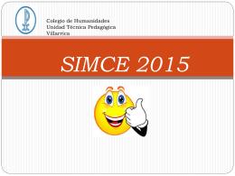 SIMCE 2015