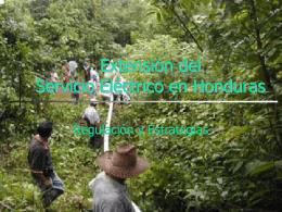 Tarifas de la Electricidad en Honduras