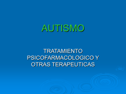 AUTISMO - Instituto Superior Juan XXIII