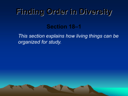Finding Order in Diversity - Teachers.Henrico Webserver