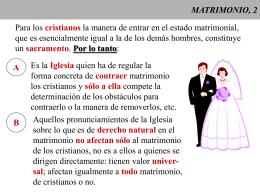 MATRIMONIO, 2 - CAMINANDO CON JESUS