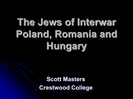 Interwar Romania and Hungary