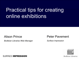 Make: Online Exhibitions