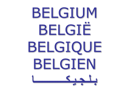 BELGIUM - Forum of Federations