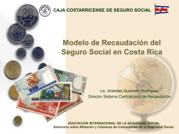 Diapositiva 1 - International Social Security Association