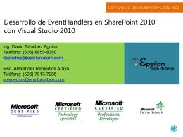 Desarrollo de EventHandlers en SharePoint 2010 con …