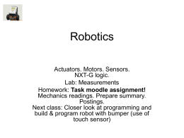 Robotics - Purchase College Faculty Web Server