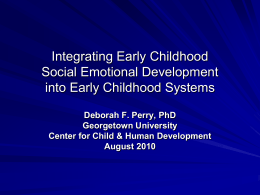 The Enduring Influence of Child Temperament