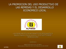 COMPONENTES DEL PROYECTO PROMOCION DEL USO …