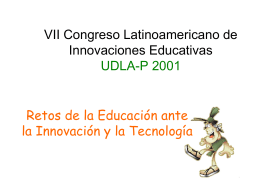 Congreso de Innovaciones Educativas